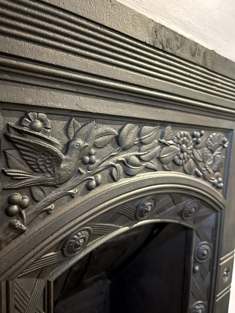 How to restore a Victorian cast iron fireplace